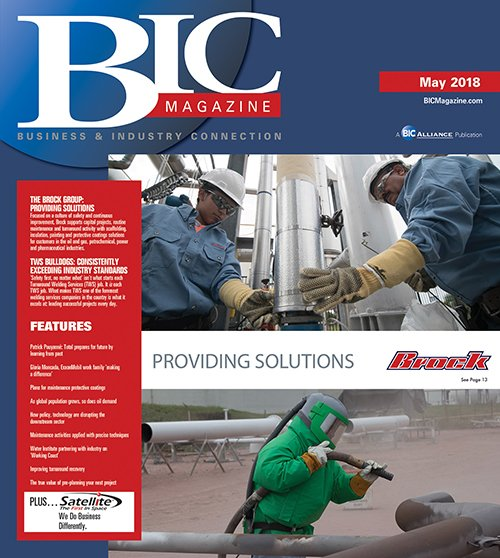 May 2018 - Front Cover - Brock