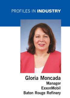 Gloria Moncada, Exxonmobil work family 'making a difference