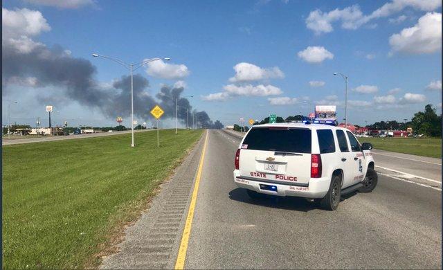 Louisiana fire