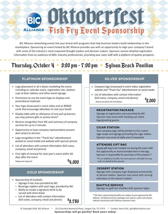 Fish Fry Sponsorship promo image