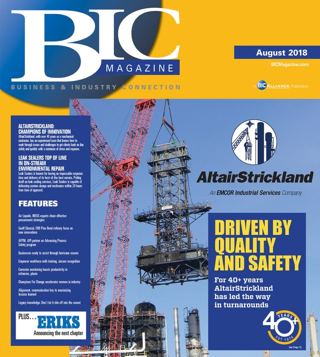 August 2018 Front Cover