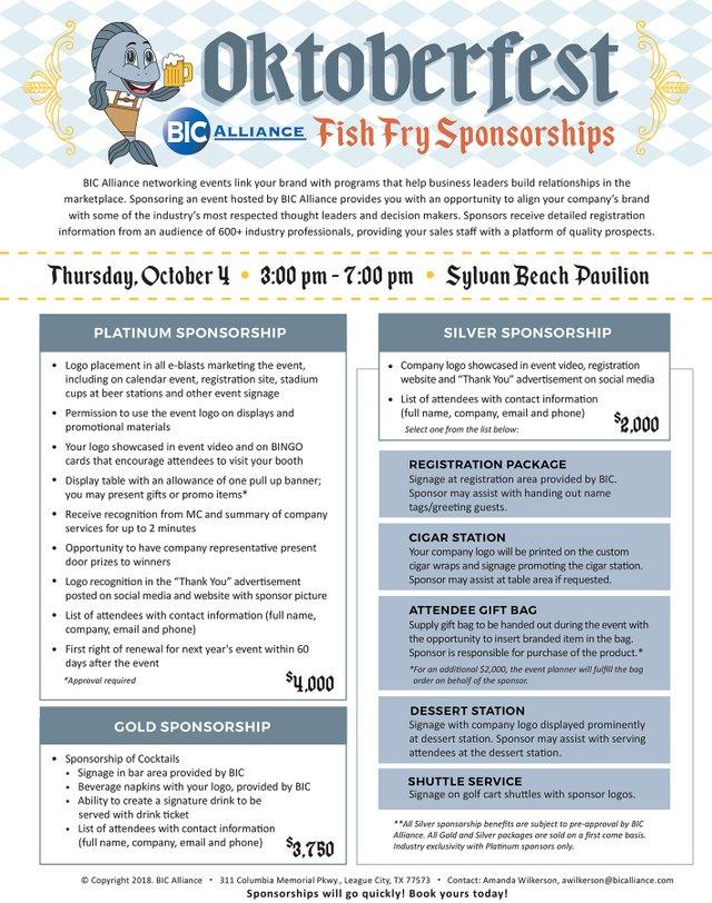 Fish Fry Sponsorship promo image - v2