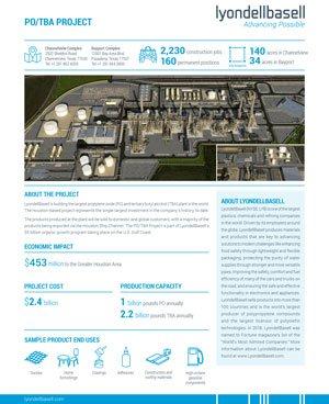 LyondellBasell PO/TBA Fact Sheet - img