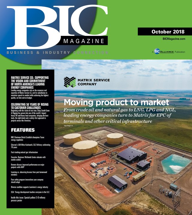 October 2018 Front Cover