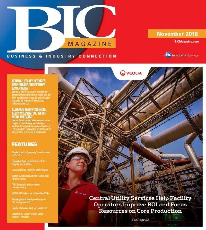 November 2018 front cover