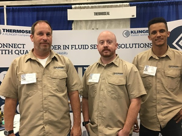 The team at Thermoseal exhibit at the PMIES Expo