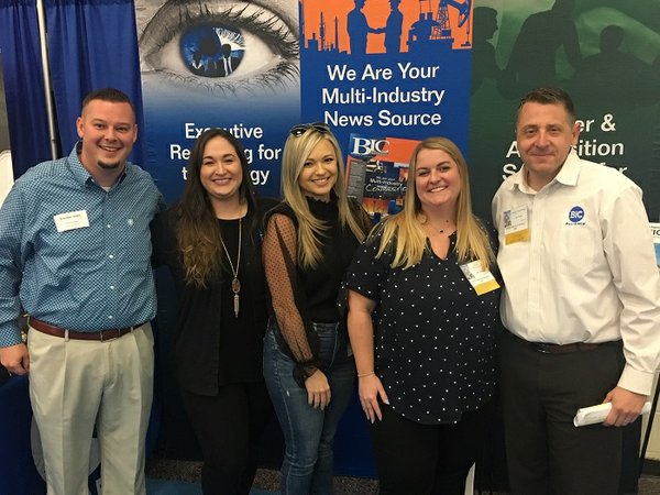 BIC Magazine welcomes Turner Industries to their booth at the PMIES Expo