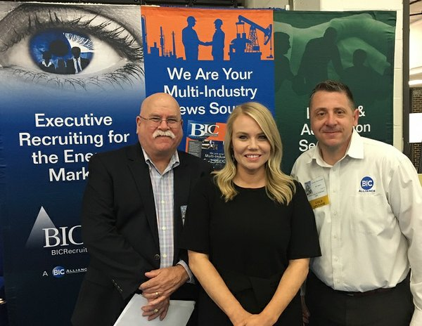 BIC Magazine welcomes the Chairman of the Plant Maintenance, Inspection, and Engineering Society David McFarland of Shell Global Solutions to its booth at the PMIES Expo