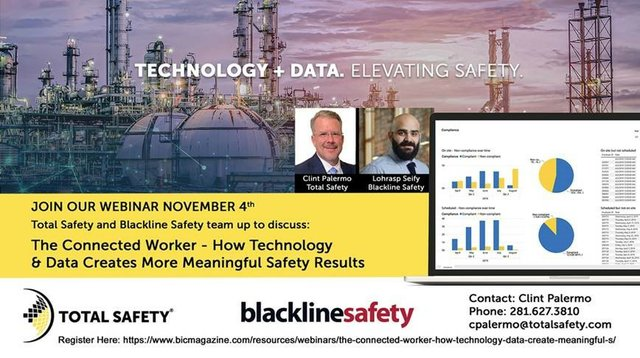 The Connected Worker: How technology & data create meaningful safety results