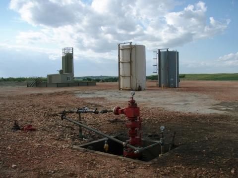 Fracking well head.JPG
