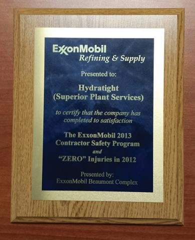 Hydratight ExxonMobil Contractor Safety Award.jpg