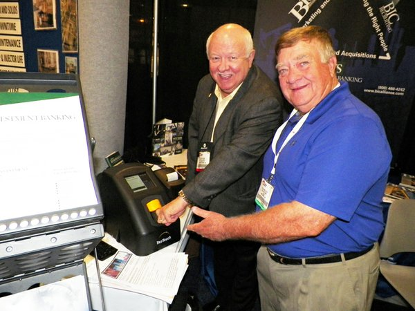TruTouch at International WorkBoat Show 2013.jpg