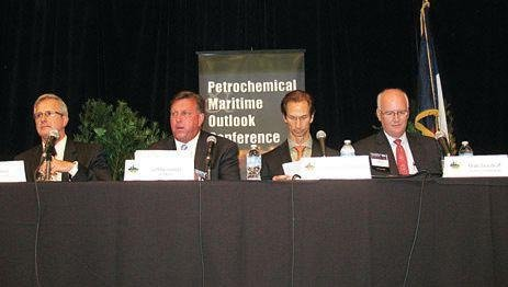 Petrochemical and Maritime Outlook Conference transportation panel.jpg