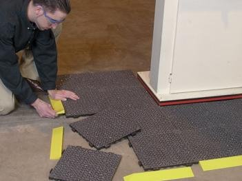 Checkers modular floor matting.jpg