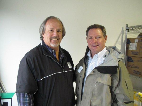Steve Kirk & Dan Persha at BIC Open House 2013.JPG