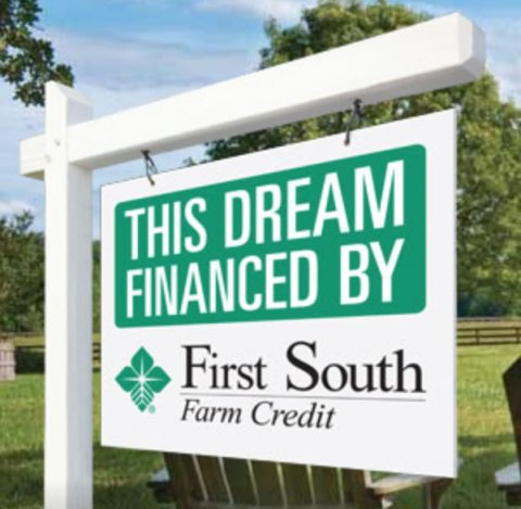 First South Farm Credit sign.png