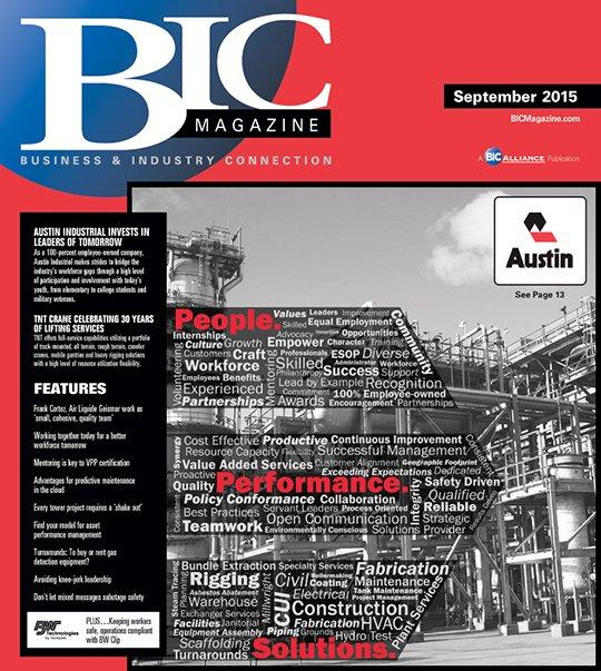 BIC Magazine September 2015