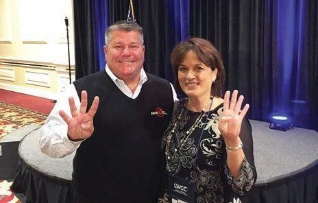 Dale Lesinski and Kathy Trahan
