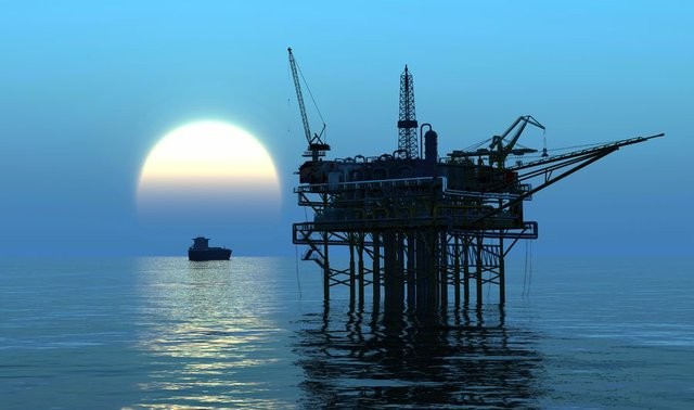 Offshore oil rig 5
