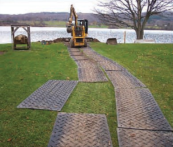 Checkers Ground Protection Mats