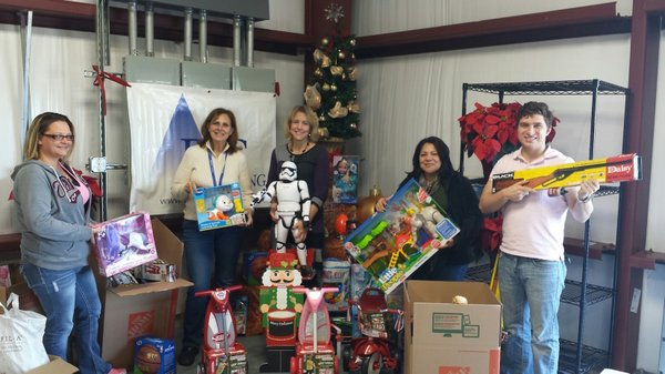 BIC toy donation Bridge Over Troubled Waters