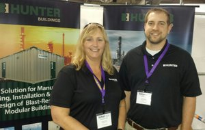 Hunter Buildings at GCI Expo