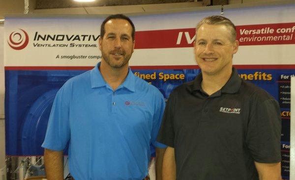Innovative Ventilation Systems & Setpoint at GCI Expo