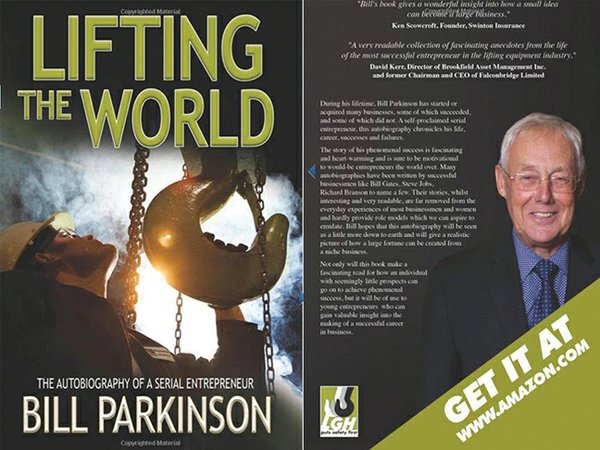 Lifting Gear Hire Bill Parkinson Lifting the World
