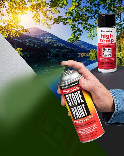 Dampney aerosol paints and coatings