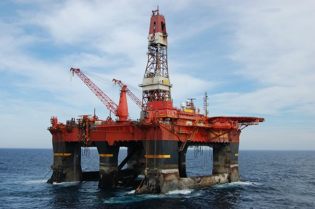 Offshore oil rig 3