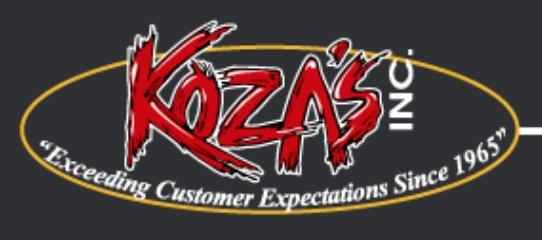 Koza's logo
