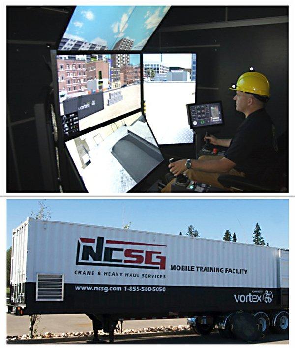 B&G Crane Service simulator