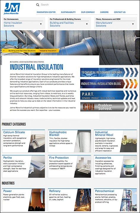 Industrial Insulation Group website