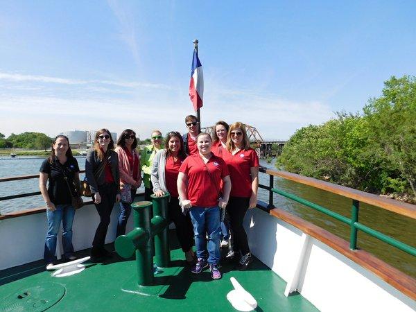 Port Tour group