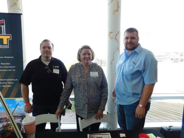 BIC crawfish boil TNT Crane Empire Scaffold BASF