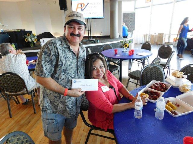 BIC crawfish boil Summit door prize