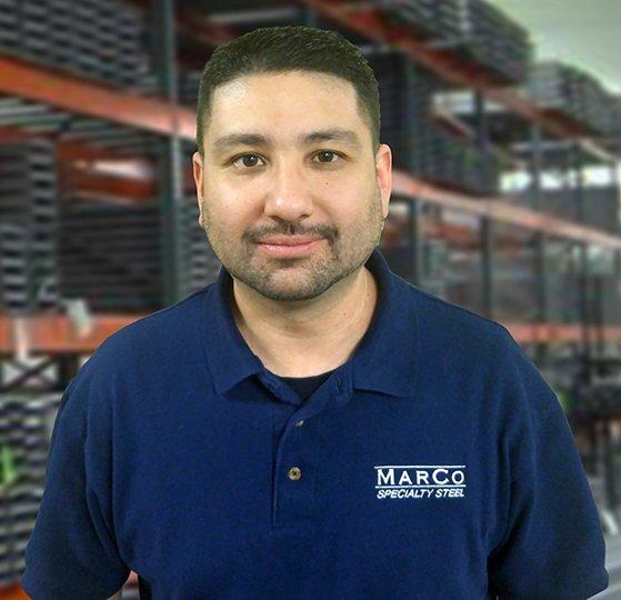 Heberto Garcia, MarCo Specialty Steel