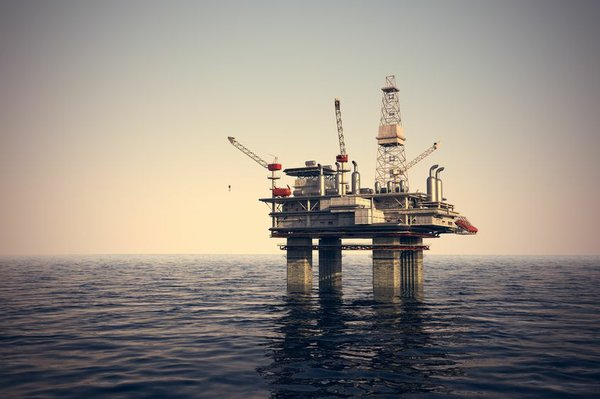 Offshore oil rig 7