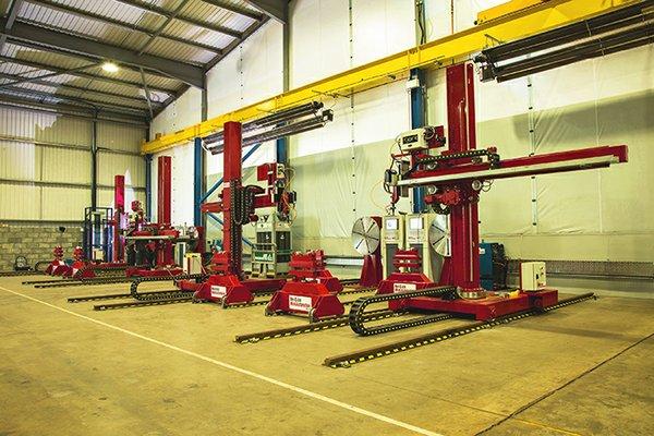 RedDArc Welderentals Scotland project