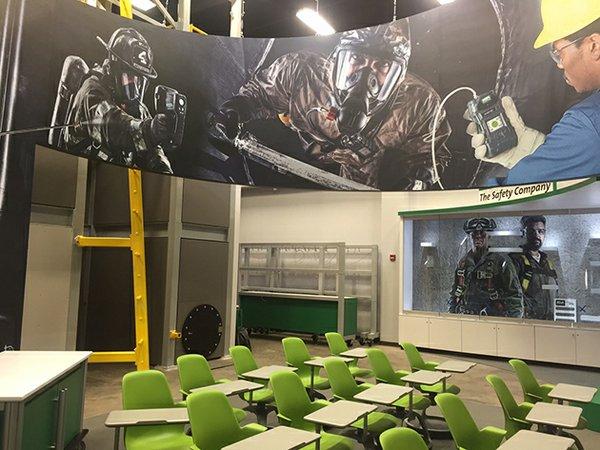 MSA safety training center