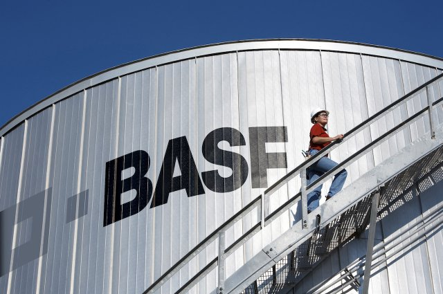 BASF Freeport tank