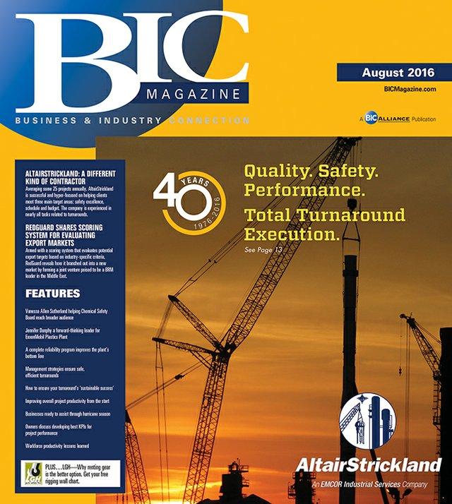 BIC Magazine August 2016