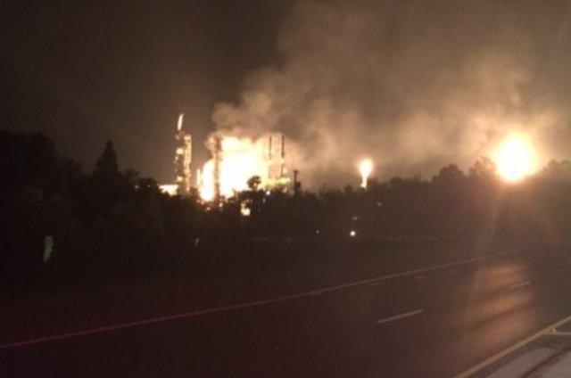 Enterprise Pascagoula gas plant fire