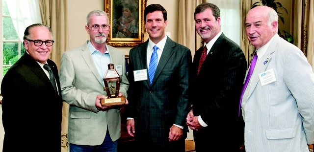 UPS Midstream Services Louisiana Lantern Award