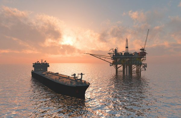 Offshore oil rig 9