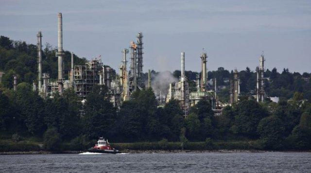Chevron Oil Refinery