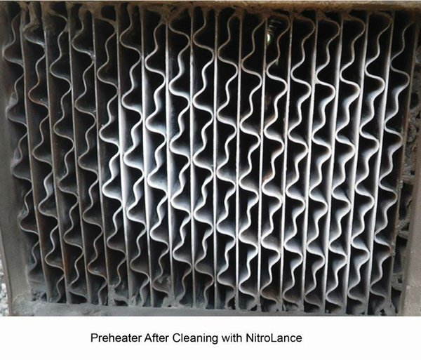 Preheater after Nitrolance