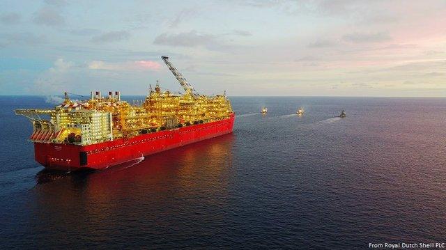 Shell Australia's Prelude