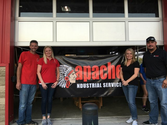 Apache Industrial Hosts Donation Drive for Harvey Flood Victims