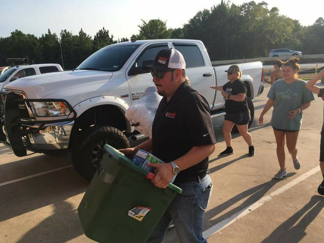 Texans Helping Texans Donation Drive
